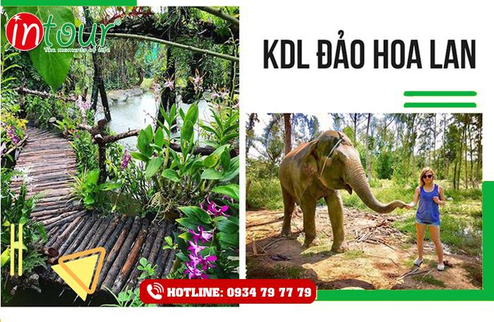 Tour du lịch Nha Trang - Suối Hoa Lan (4 ngày 3 đêm)
