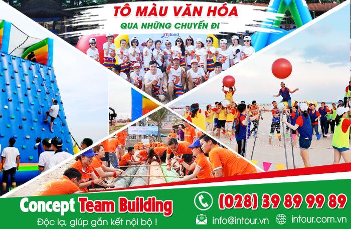 Teambuilding biển Nha Trang